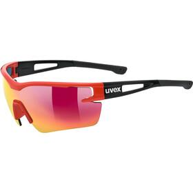 UVEX Sportstyle 116 Okulary rowerowe czerwony/czarny